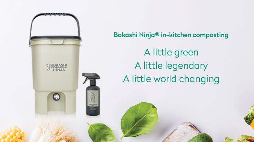 Bokashi Ninja In-Kitchen Composting