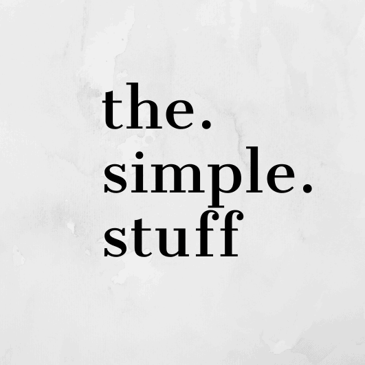 The Simple Stuff